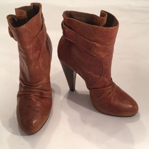 Steve madden ankle boots leather High Heel 7